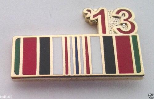 ENDURING FREEDOM 13 AFGHANISTAN RIBBON  Military Veteran Hat Pin P12310 EE