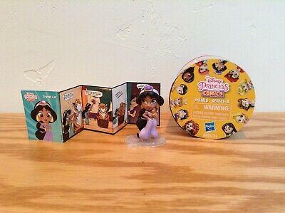 DISNEY PRINCESS COMICS Series 2 JASMINE Mini Figure Opened Blind Box