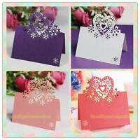 12pcs Cut-out Wedding Birthday Christmas Table Decoration Place Name Cards