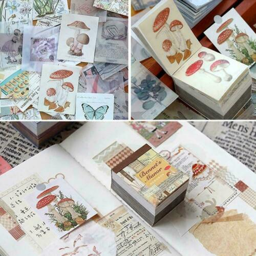 40 Pcs Collection Memo Stickers Diary Stickers Pack Scrapbooking Planner H1A7