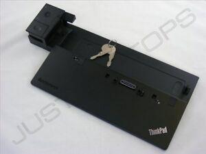 Lenovo-ThinkPad-X240-X250-Ultra-Docking-Station-Port-Replicator-w-Keys-NO-PSU