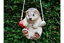 Rope Tree Hanging Outdoor Home Garden Animal Ornament Figurine Sculpture Statue