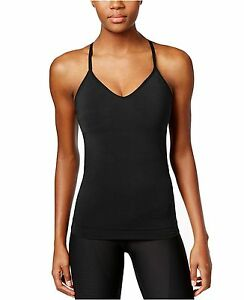 New-NIKE-Women-039-s-Zoned-Sculpt-Dri-fit-Strappy-Tank-Top-807559-010-Black-XS-S-M-L