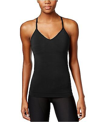 New NIKE Women's Zoned Sculpt Dri-fit Strappy Tank Top 807559 010 Black XS S M L