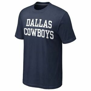 Dallas-Cowboys-Mens-Coaches-T-Shirt-Medium-amp-Small-NFL-Licensed-NWT
