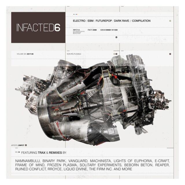INFACTED COMPILATION VOL.6 (VANGUARD, MACHINISTA, RROYCE,...)  CD NEW!