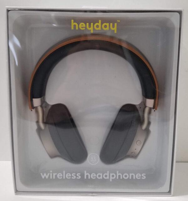 Heyday Wireless On-ear Headphones Microphone Tan/gold