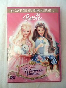 Barbie La Principessa E La Povera Dvd Film Cartoni Animati Ebay
