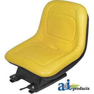 ,335 John Deere Parts SEAT W// SUSPENSION AM131801 355D,345 SN 70001-/> SN 70001