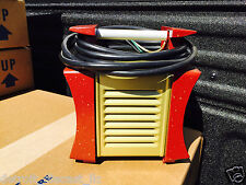 NOS White Handle Golden EPRAD Hot Shot Electric Drive In Movie Theatre Heater