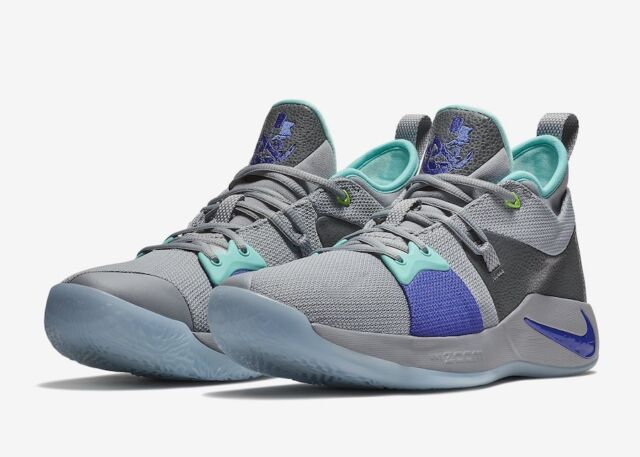 best service dc077 3e457 Nike PG 2 Paul George Mens Shoe Size 11 Pure Platinum Neo Turq Aj2039 002