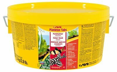 (eur 48,38 / Kg) Sera Plankton Tabs Farbfutter 1,3 Kg Online Shop