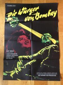 Wuerger-von-Bombay-Kinoplakat-60-Guy-Rolfe-Allan-Cuthbertson-Hammer