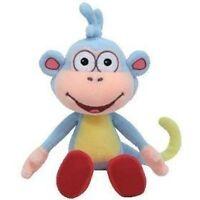 "Boots Dora the Explorer Plush Beanie Baby Ty NEW w Tags 8"" Monkey Toys"