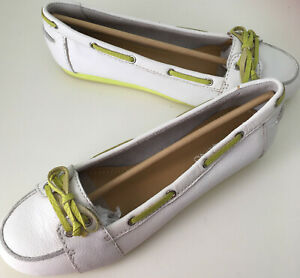 Leather Ladies Loafers Shoes Moccasins Nine West UK Size 7.5 US Size 9.5