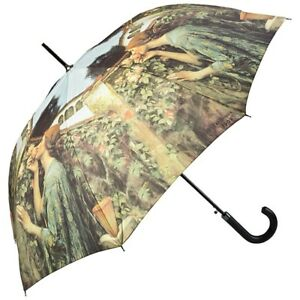 Regenschirm-Automatik-Damen-Kunst-Motiv-John-W-Waterhouse-My-Sweet-Rose