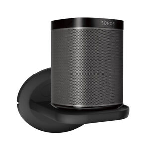 Wall-Mount-Holder-For-Sonos-Play-1-Sonos-One-Small-Shelf-Stand-Black