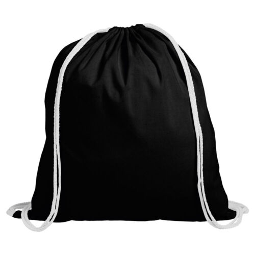 SCHOOL GYM PE BOOK BAGS 1 x COTTON DRAWSTRING RUCKSACK BACKPACK TOTE BAG ECO