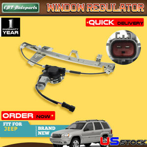 Driver Side Window Regulator For Jeep Grand Cherokee 2000-2004 New Front