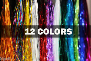 12Color-Flashabou-Tinsel-Holographic-Flat-Mylar-Crystal-Flash-Fly-Tying-Material