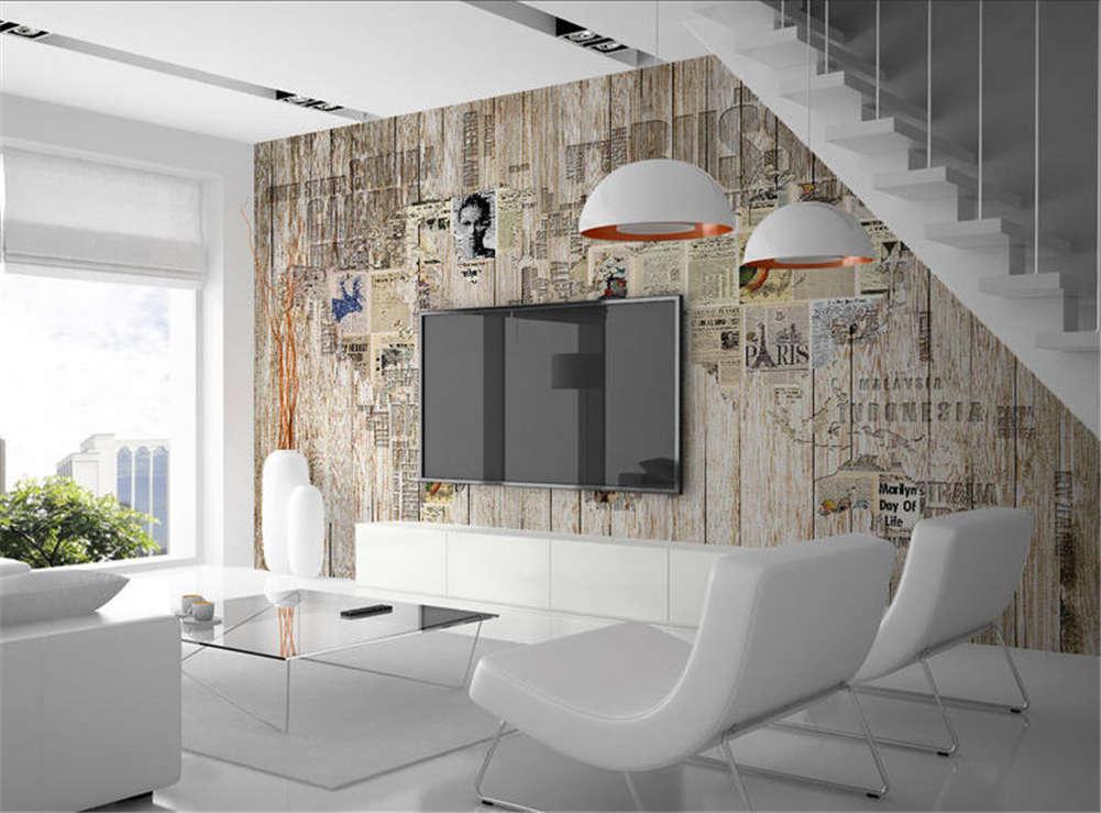 Retro Plain Painting 3D Full Wall Mural Photo Wallpaper Printing Home Kids Decor