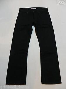 Levi-039-s-506-Herren-Jeans-Hose-W-34-L-32-Schwarz-wie-NEU-Black-Denim-RAR