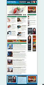 GRAPHIC DESIGN AFFILIATE WEBSITE FOR SALE WITH NEW DOMAIN + HOSTING