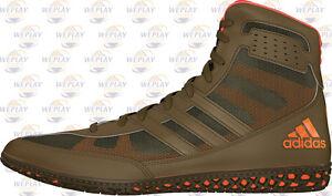 8e61cef217d915 Adidas Mat Wizard David Taylor Men s Wrestling Shoes Olive Green ...