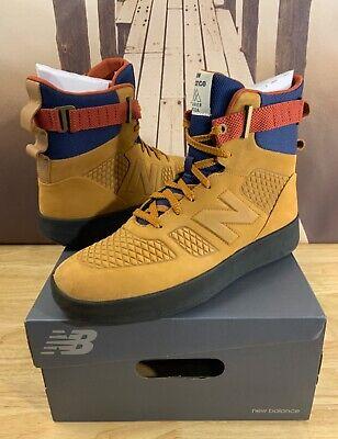 High-Top Sneaker Boot Tan Brown