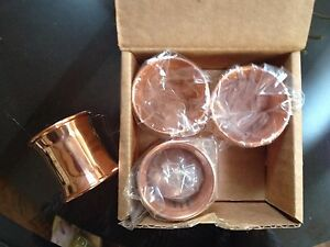 Image Is Loading Williams Sonoma Copper Napkin Rings Set Of 4