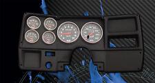 73-83 Chevy Truck Black Dash Insert w/ Sport Comp Gauges