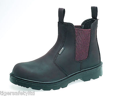 Delta Plus CAPPS LH408 BROWN Safety Work Dealer Boots Shoes Metal Free Toe Cap