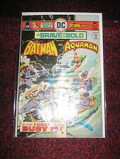 THE BRAVE AND THE BOLD 126 BATMAN AQUAMAN GOOD +