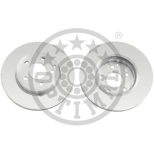 2 Bremsscheibe OPTIMAL BS-8578C COATED passend für MERCEDES-BENZ
