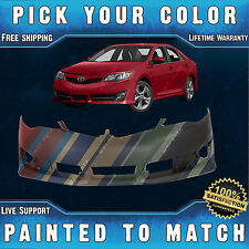 NEW Painted to Match - Front Bumper Cover Fascia for 2012-2014 Toyota Camry SE