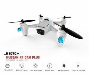 Hubsan Drone H107C+ X4 Cam Plus WHITE