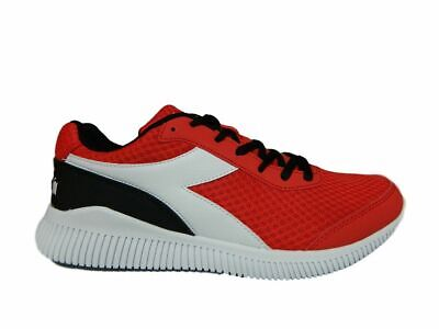 Diadora Eagle 3 Scarpe da Running Uomo Stringate Red White Black