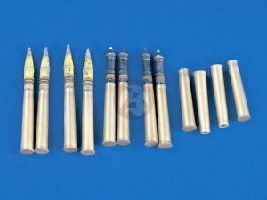 Details about Verlinden 120mm (1/15) 88mm Ammo Shells & Cartridges 8 8cm  FlaK 37 (for 970) 971