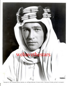 1962 LAWRENCE OF ARABIA Peter O/'Toole Glossy 8x10 Photo Poster Print
