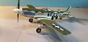"""ARMOUR (98005) USAAF P-51D MUSTANG """"THE HUNTER TEXAS"""" 1:48 SCALE DIECAST MODEL"""