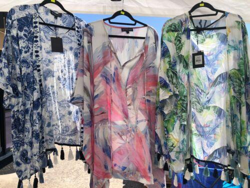 Beautiful Bettina Liano Ladies Kimono Over Swimmers Beach Cover Up