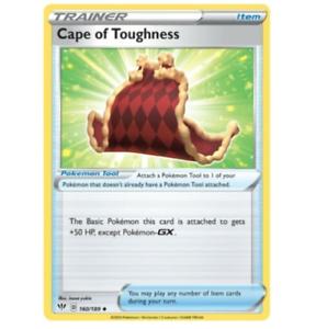 Pokemon Card, Darkness Ablaze  Cape of Toughness - 160/189 - Uncommon NM