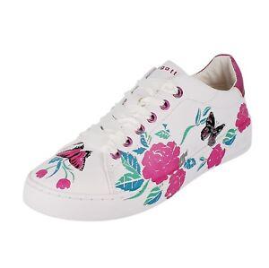 new style 26545 2ddce Details zu Bugatti Woman 431291145959 Damen Schuhe Halbschuhe Sneaker 2080  Rose White
