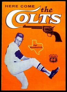 1962-Here-Come-The-Colts-Booklet-Hal-Woodeshick-Houston-Colt-45s-SCARCE