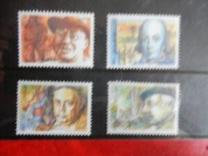 BELGIUM-2225-2228-1986-BELGISCHE-FIGUREN