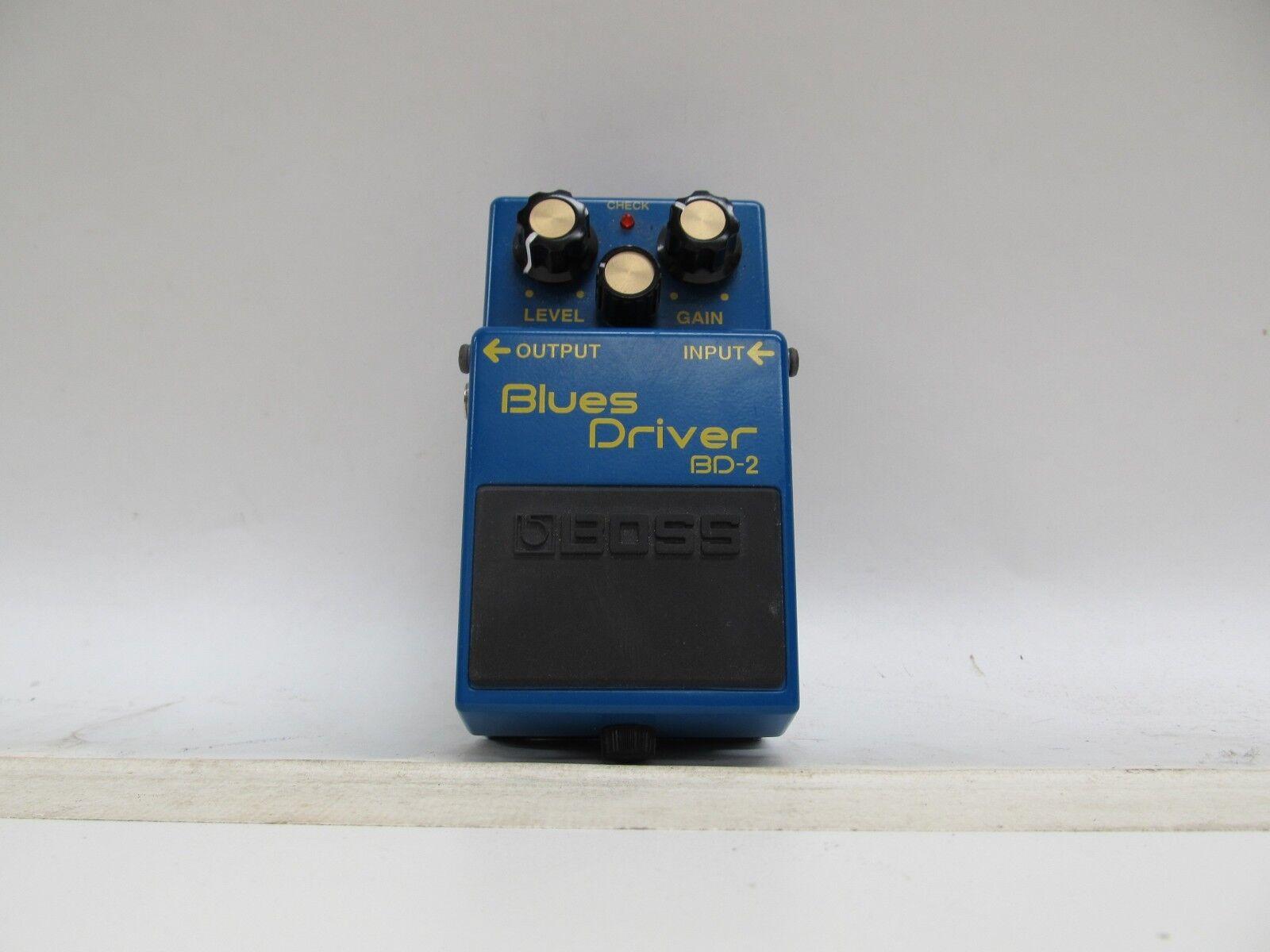 BOSS BD-2 BlauS DRIVER GUITAR EFFECTS PEDAL