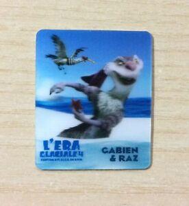 CARD KINDER MERENDINE -SERIE- L'ERA GLACIALE 4 - MINI CARD N°24 GABIEN & RAZ iKv0pqdH-09120215-844301549
