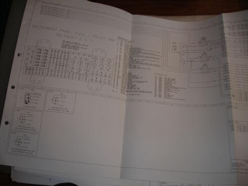 car manuals & literature 1992 ford ranger explorer truck oem electrical  wiring diagrams schematic manual guidohof  guidohof