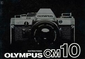olympus om 10 slr 35mm camera owners instruction manual ebay rh ebay com olympus om10 instruction manual olympus om10 owners manual