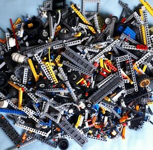 Genuine-Lego-Technic-500g-1-2kg-Mixed-Bundle-Bricks-Pins-Axles-Bushes-Parts-Bulk